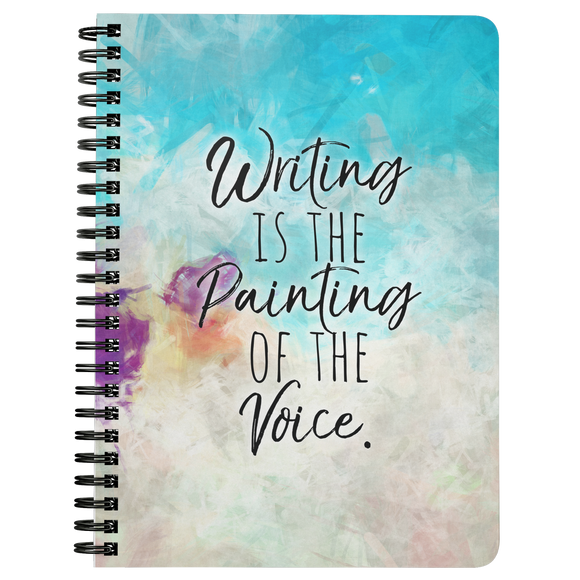 Writing is the Painting of the Voice Notebook