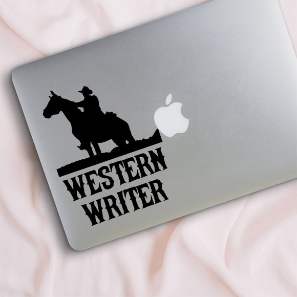 Western Writer Decal