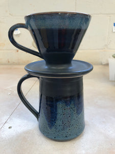 POS - Mug with pour over in midnight Sky