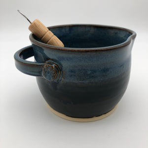 Whisking Bowl in Midnight Sky