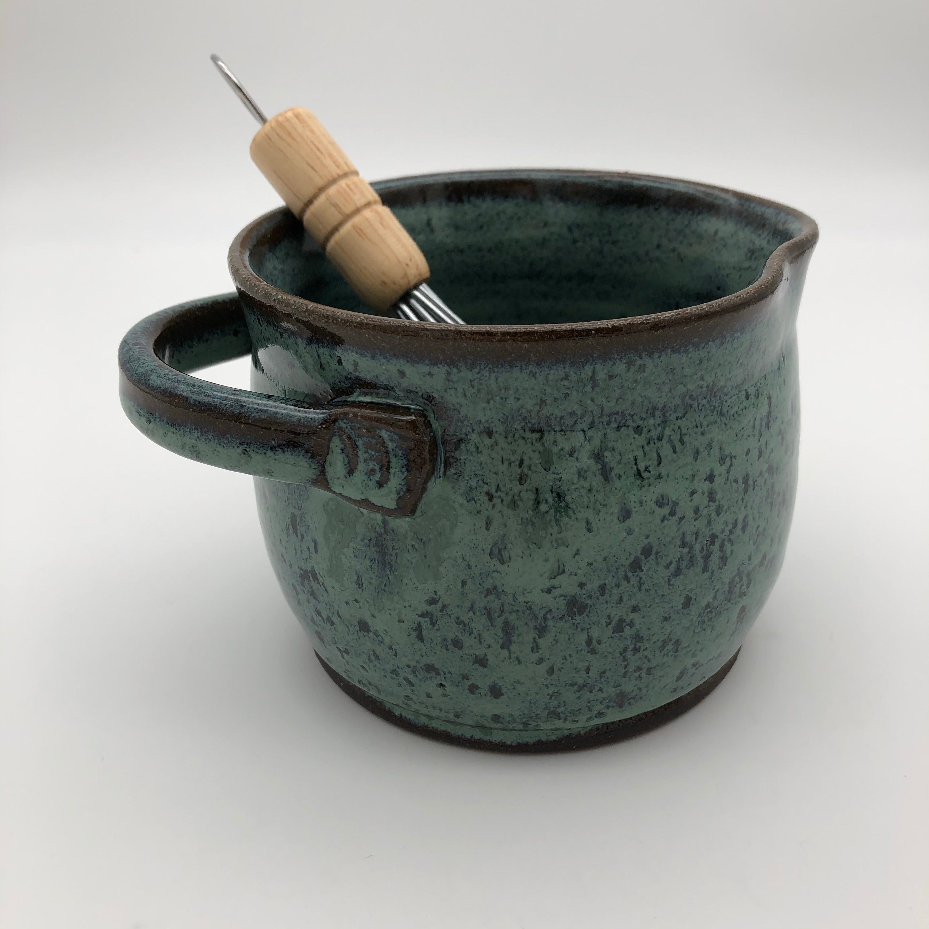 Whisking Bowl in Blue Green