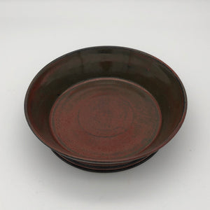 2 cup footed bowl in Ancient Jasper