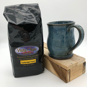 12 oz. Mug in Floating Blue