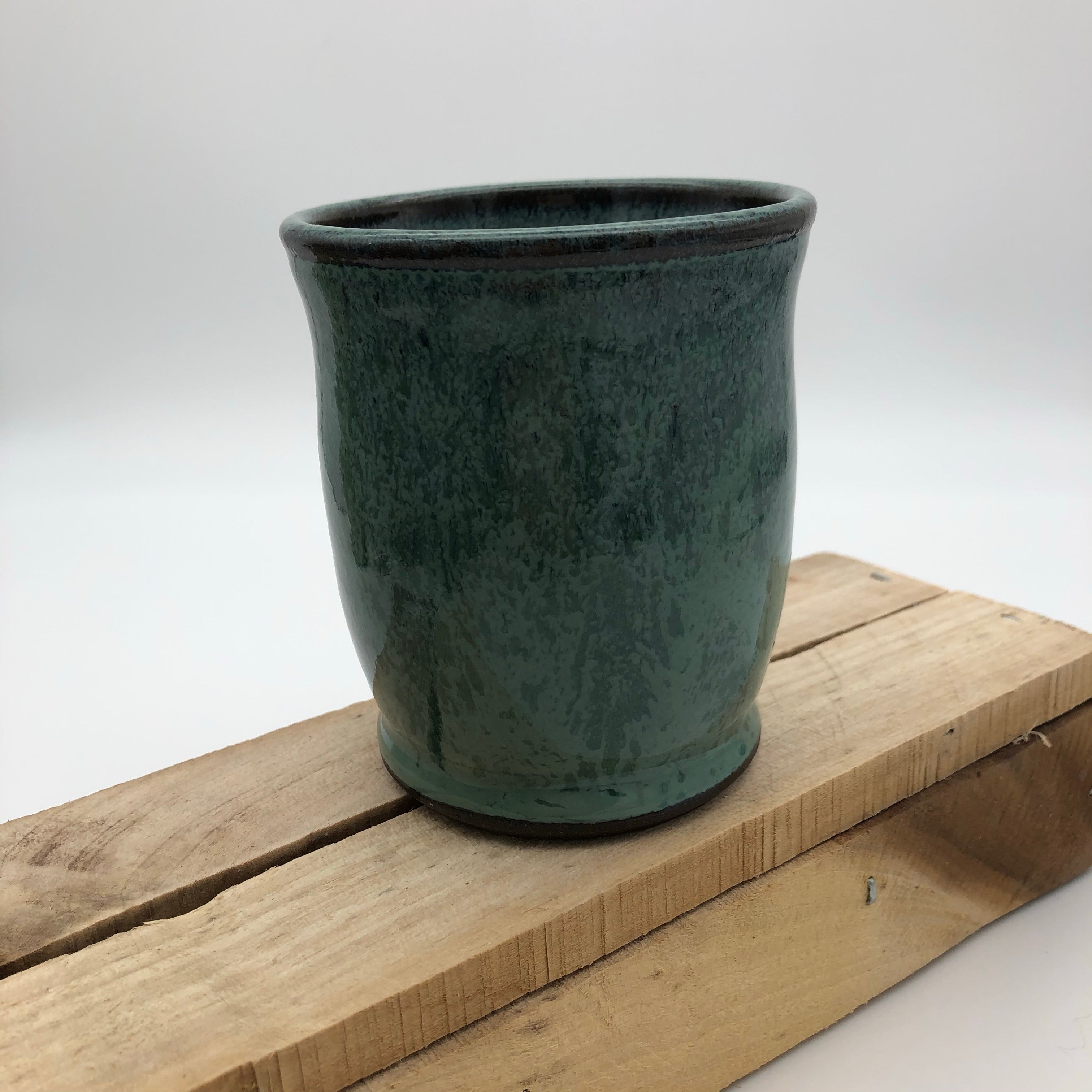 8 oz. cup in Blue Green