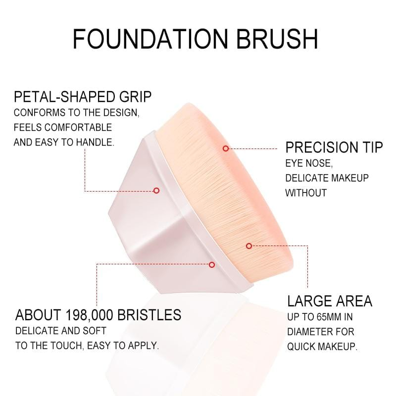Diamond Cosmetic Hexagon Brush