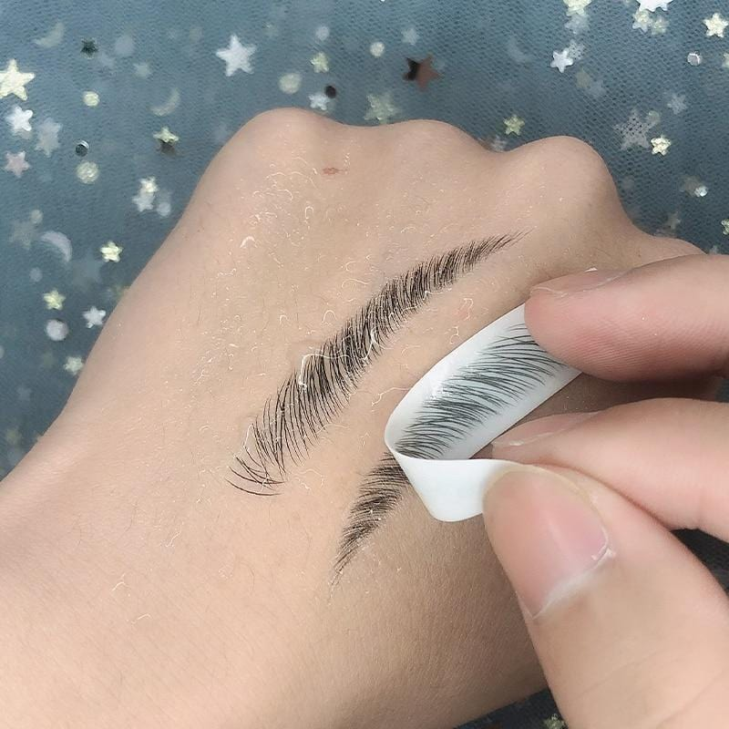 Eyebrow Tattoo Sticker