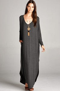 Dolly long sleeve maxi dress