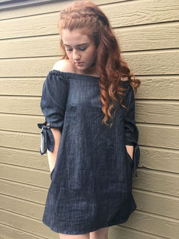 Denim Girly Dress