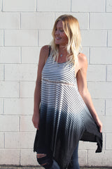 Ombre Striped Tunic