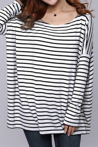 Striped Staple Top