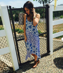 Valley Floral Maxi Dress