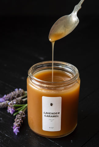 Lavender Caramel Syrup - Shipped