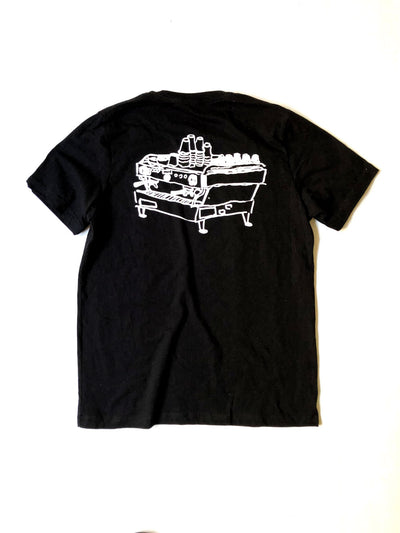 Linea Espresso Machine  t-shirt by Grayson