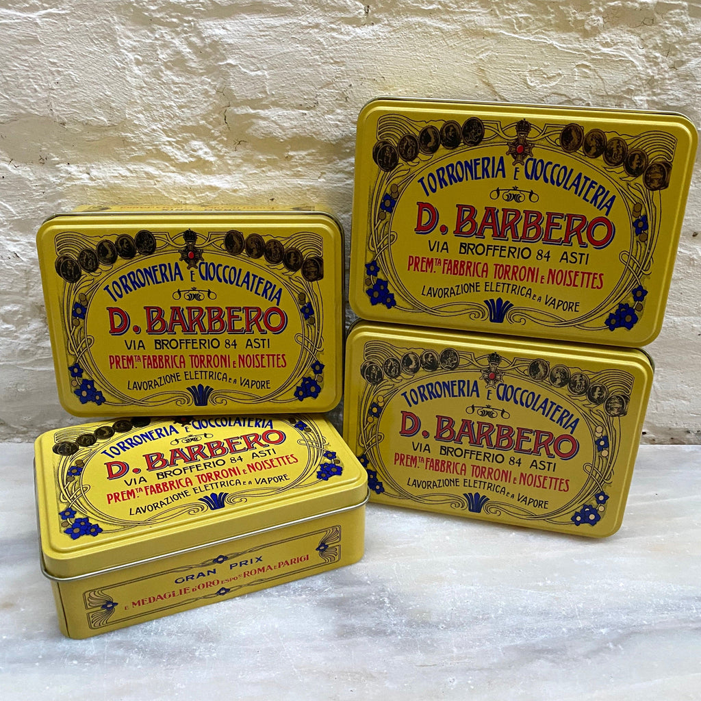 Barbero Mixed Chocolates (Yellow Tin), Davide Barbero