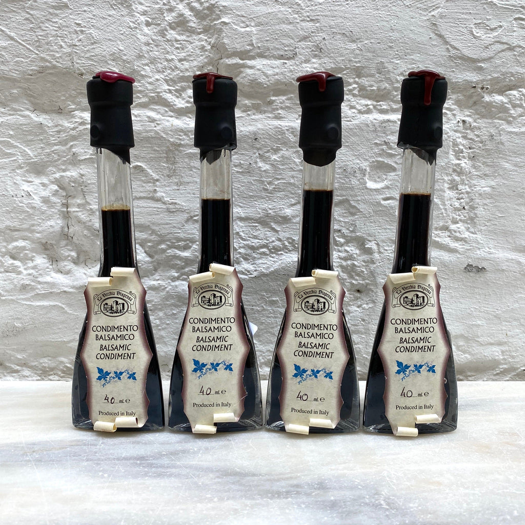 La Vecchia Dispensa Condimento Balsamico. Blue Label