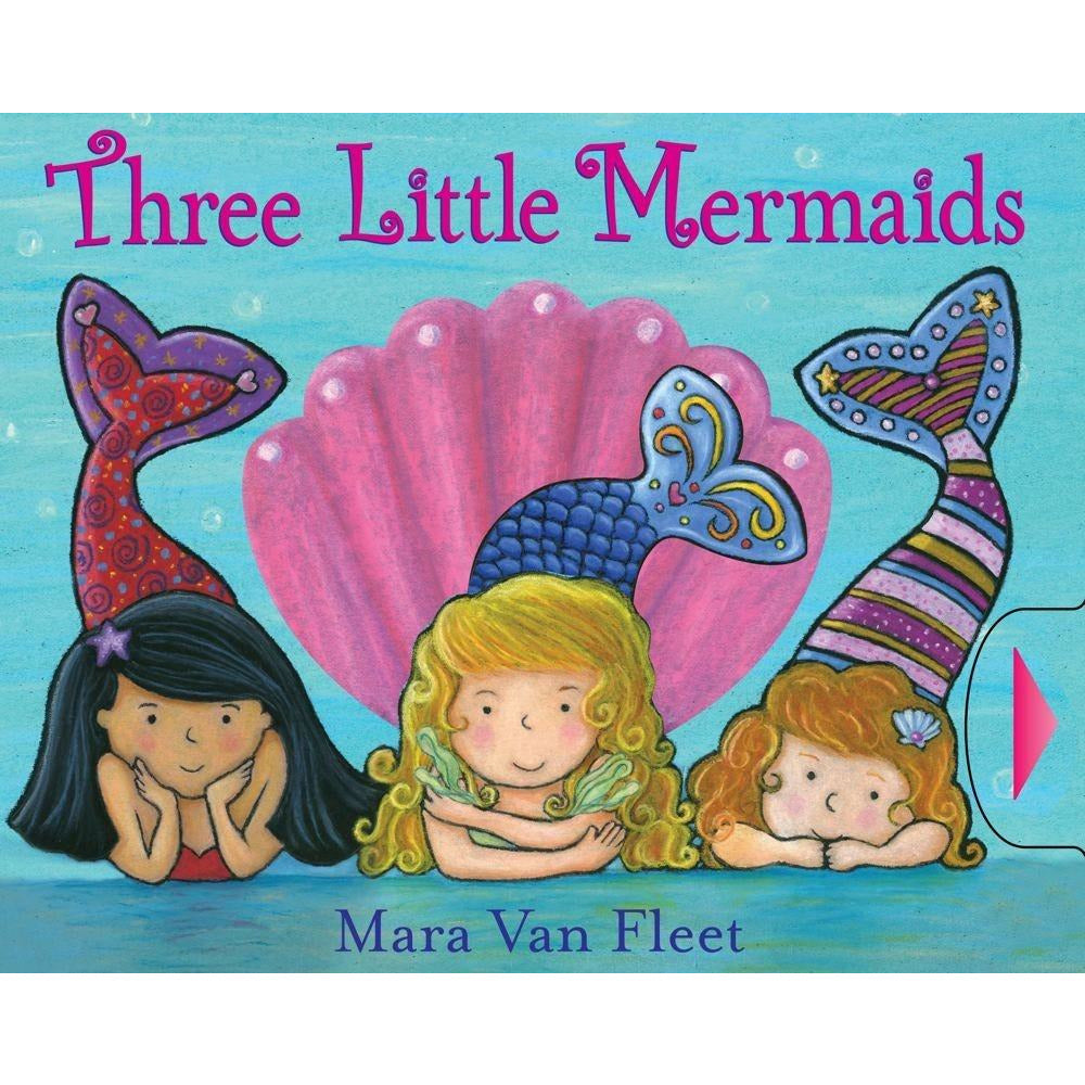 Three Little Mermaids Book