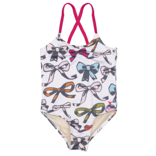 Baby Belle Swimsuit - Multi Bows