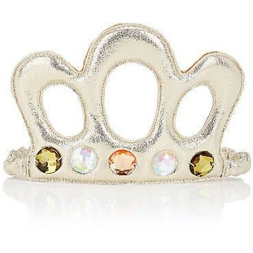 Jeweled Tiara - Silver