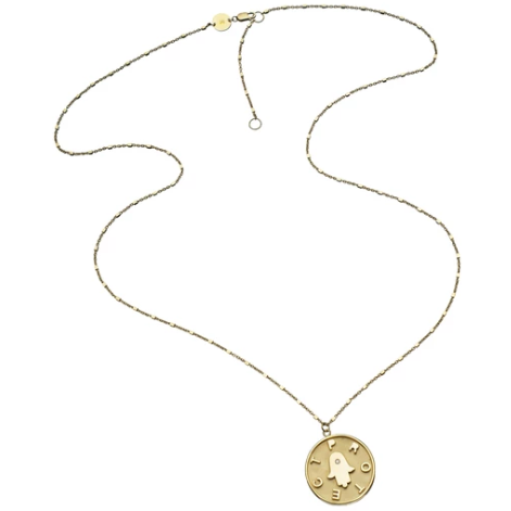 Kennedy Necklace - Gold Vermeil