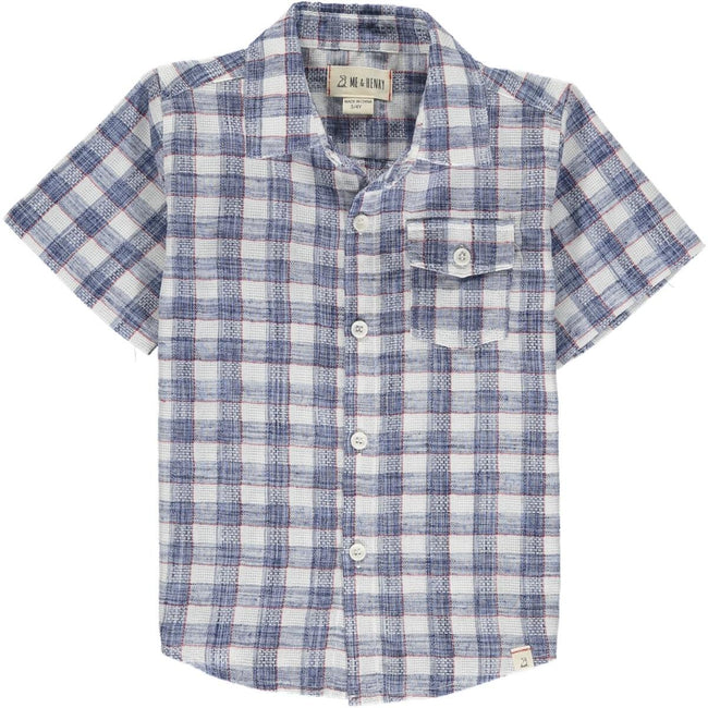 Newport Short Sleeve Shirt - Madras Plaid