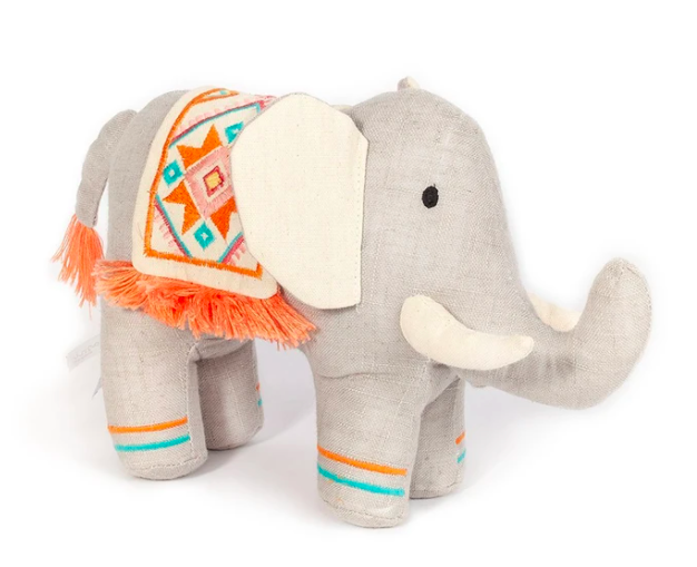 Eden Tribal Elephant Stuffed Toy