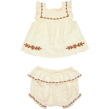 Marabelle Two-Piece Set - Antique White