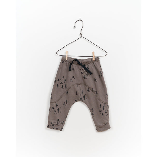 Tree Print Slouch Pants
