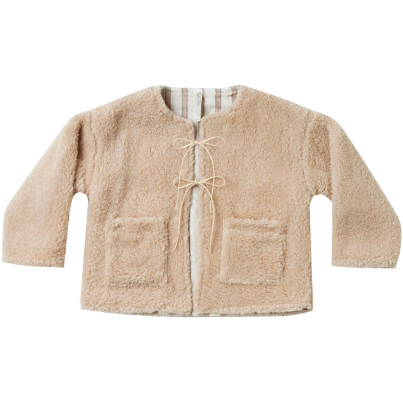 Reversible Teddy Jacket - Wheat