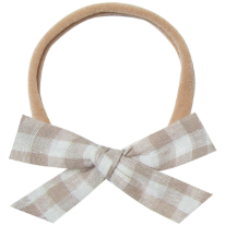 Bow Headband - Gingham