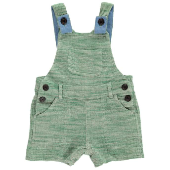 Cotton Shortie Coverall - Green