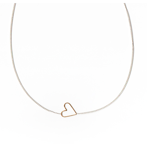 Sweetie Necklace - Gold Heart