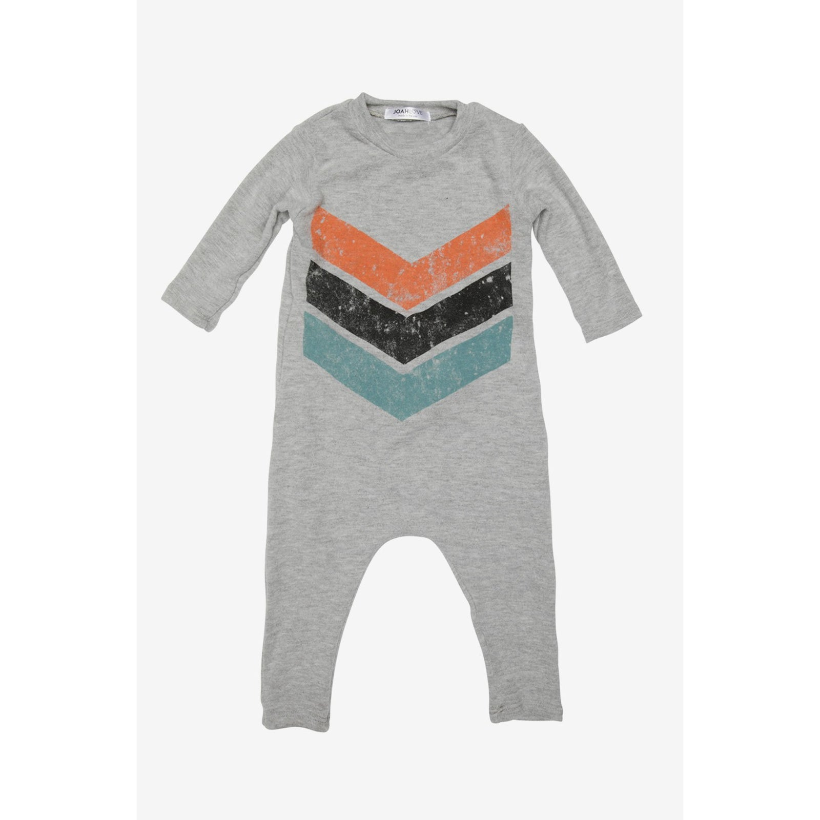 Casper Chevron No Snap Playsuit