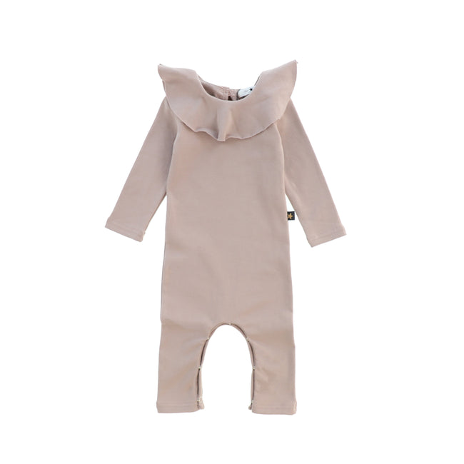 Ruffle Baby Body Suit - Pink