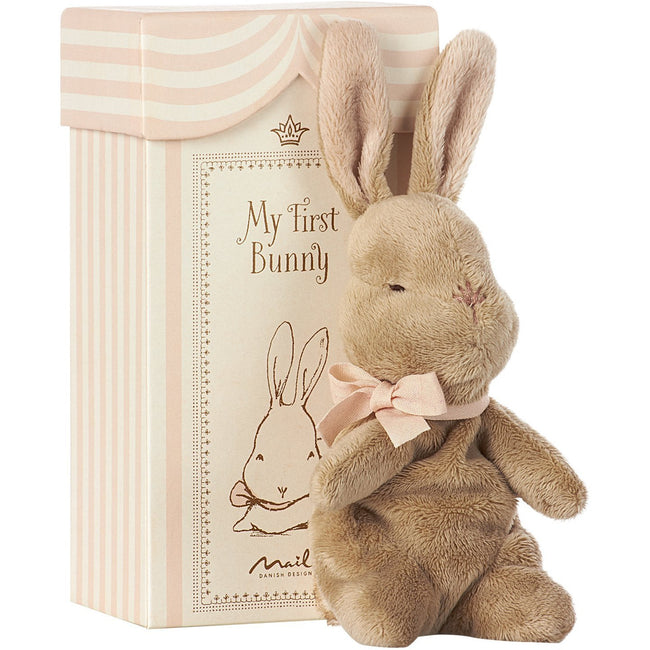 My First Bunny in Box - Rose