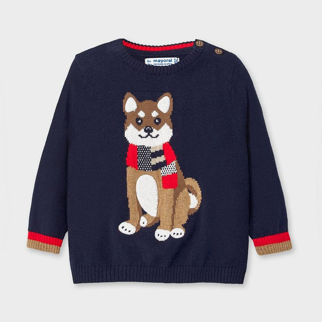 Dog Sweater - Navy