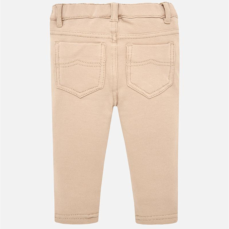 Beige Fleece Lined Pants