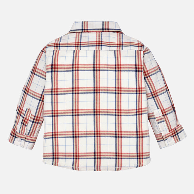 Checked Collared Shirt