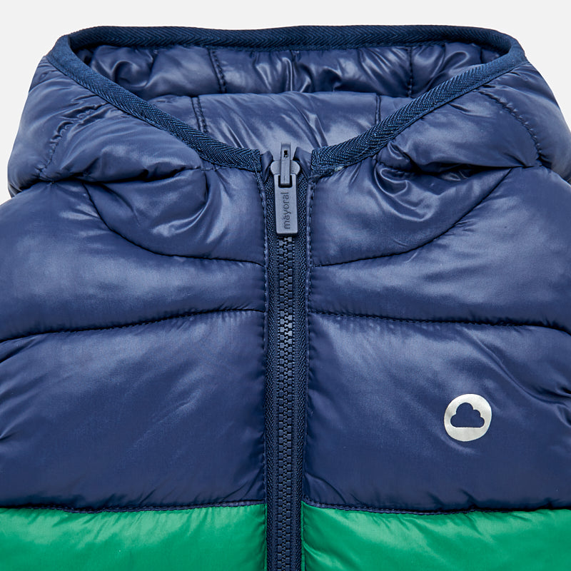 Reversible Hooded Vest - Green