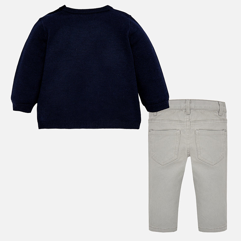 Fox Sweater and Trousers Set