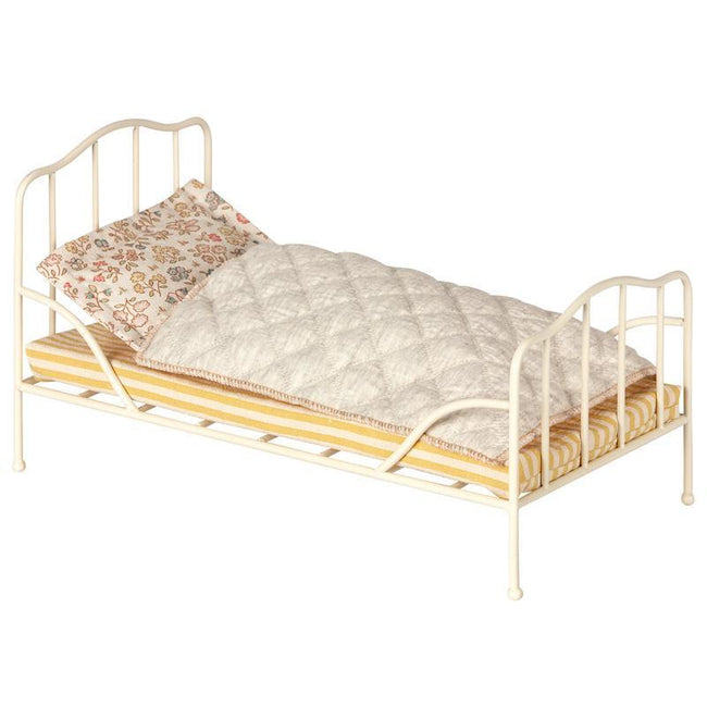 Mini - Vintage Metal Bed - Soft Sand