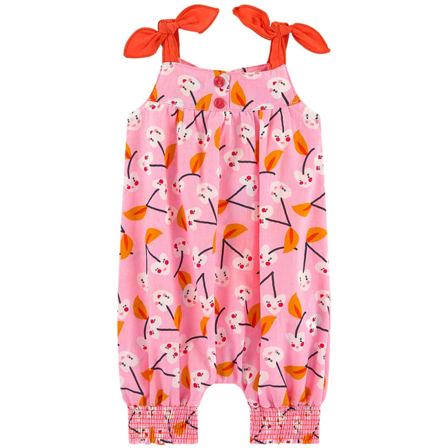 All In One Jumpsuit - Pink Cherry Blossom