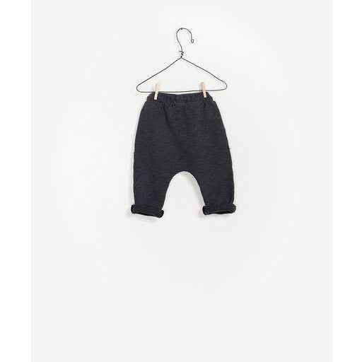 Sweatpants with Kangaroo Pocket - Charcoal