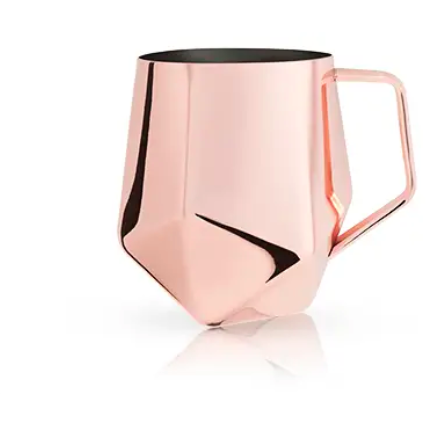 Faceted Copper Moscow Mule - Summit