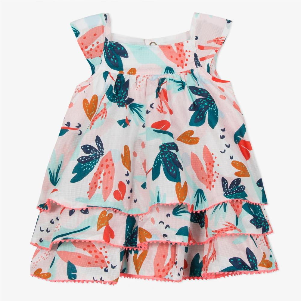 Print Robe Dress - Tropical Adventure