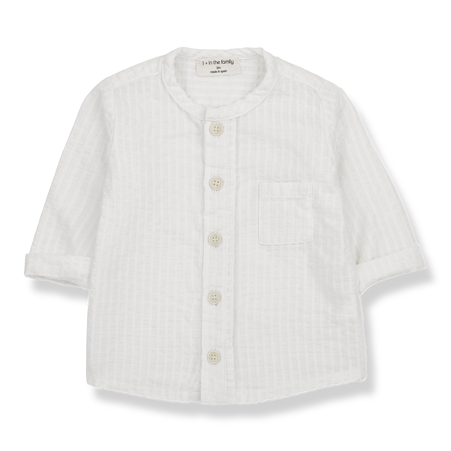 Oyon Button Up Shirt - Off-White