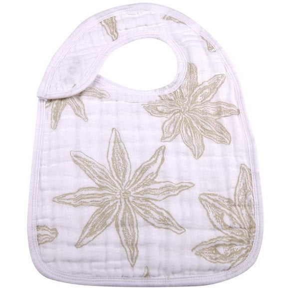 World Wanderer Flower Snap Bib