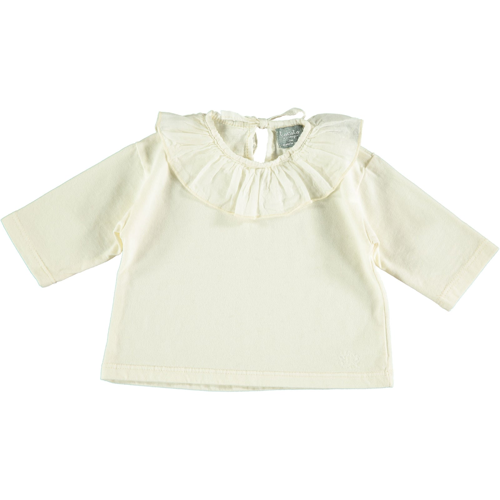 Voile Collar Shirt - Off White