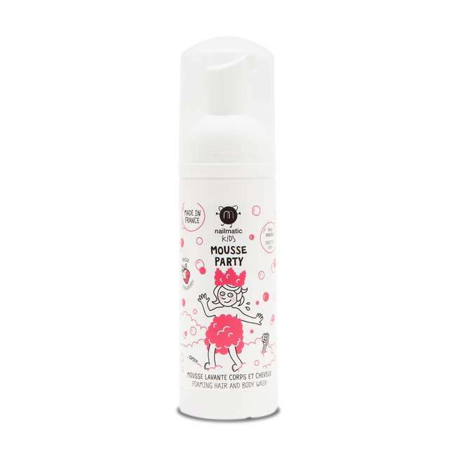 Mousse Party Hair and Body Wash - Strawberry