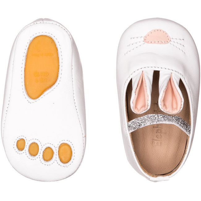 Bunny Sleeper Shoes - White