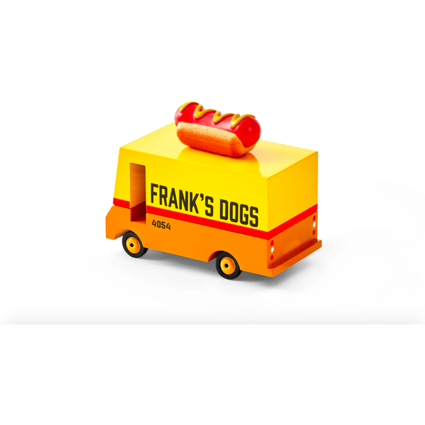 Hot Dog Van Toy Car